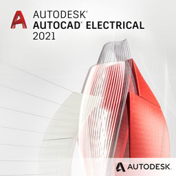 autocad electrical 2021 badge 256px opt