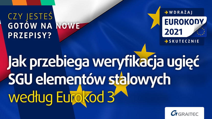 Jak przebiega weryfikacja ugięć SGU elementów stalowych według Eurokod 3